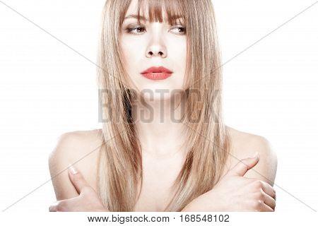 Attractive Beautiful Blond Girl
