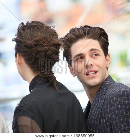 Xavier Dolan attends 'It's Only The End Of The World (Juste La Fin Du Monde)' during the Photocall - The 69th Cannes Film Festival on May 19, 2016 in Cannes.