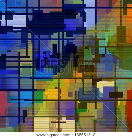 Mondrian, pattern