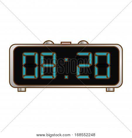digital clock and timer icon design, vector illustration