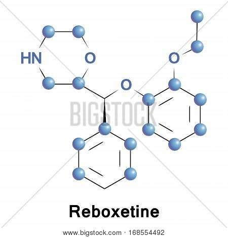 Reboxetine is a drug of the norepinephrine reuptake inhibitor class, an antidepressant for use in the treatment of unipolar depression