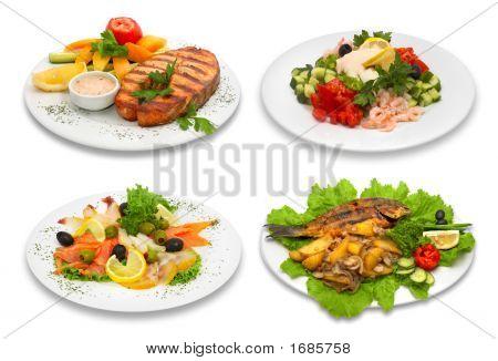 4 Fish Dishes