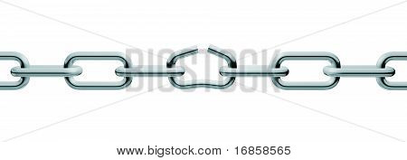 Silver Unlink Chain