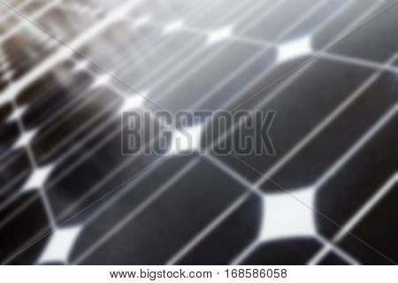 Abstract Blur - Solar Panel, Photovoltaic, Alternative Electricity Source
