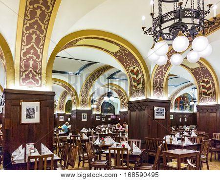 The Famous Restaurant Auerbachs Keller, Leipzig, Saxony, Germany