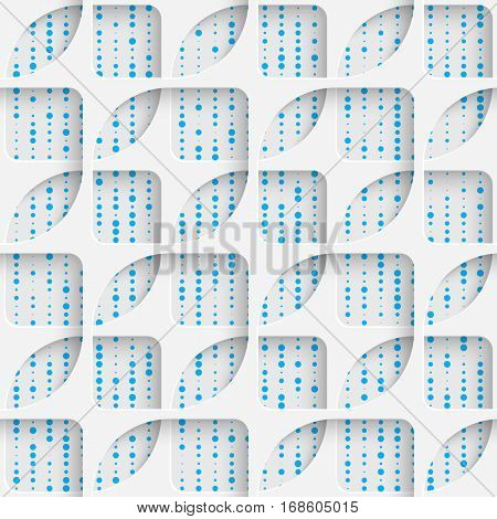 Seamless Contemporary Grid Pattern. Abstract Web Background. Moder Wrapping Paper Texture
