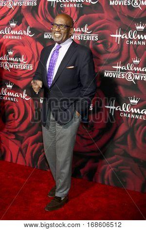LOS ANGELES - JAN 14:  Al Roker at the Hallmark TCA Winter 2017 Party at Rose Parade Tournament House  on January 14, 2017 in Pasadena, CA