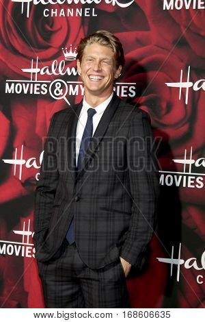 LOS ANGELES - JAN 14:  Andrew Francis at the Hallmark TCA Winter 2017 Party at Rose Parade Tournament House  on January 14, 2017 in Pasadena, CA
