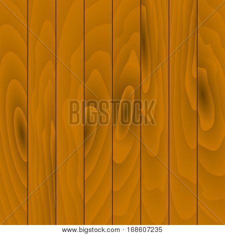 Vector old wooden background. Grunge texture . Realistic illustration of wooden planks.