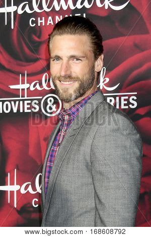 LOS ANGELES - JAN 14:  Andrew Walker at the Hallmark TCA Winter 2017 Party at Rose Parade Tournament House  on January 14, 2017 in Pasadena, CA