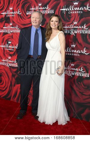 LOS ANGELES - JAN 14:  Jon Voight, Rachel Boston at the Hallmark TCA Winter 2017 Party at Rose Parade Tournament House  on January 14, 2017 in Pasadena, CA