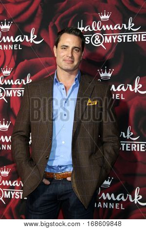 LOS ANGELES - JAN 14:  Victor Webster at the Hallmark TCA Winter 2017 Party at Rose Parade Tournament House  on January 14, 2017 in Pasadena, CA