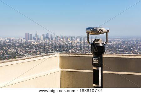 Tourist observation deck.
