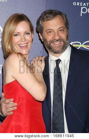 Palm Springs - JAN 15:  Leslie Mann, Judd Apatow at the PSIFF - Closing Night Screening