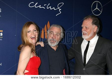 Palm Springs - JAN 15:  Leslie Mann, Robert DeNiro, Taylor Hackford at the PSIFF - Closing Night Screening