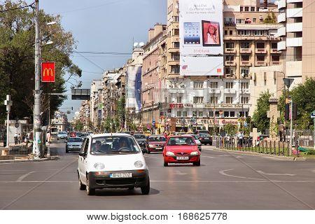 Bucharest Traffic
