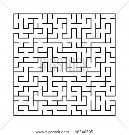 Vector labyrinth 77. Maze / Labyrinth with entry and exit.