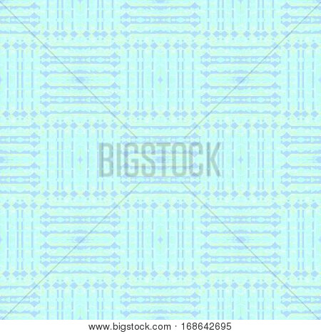 Abstract geometric seamless background. Regular modern stripes pattern in pastel blue shades checkered, ornate and extensive.