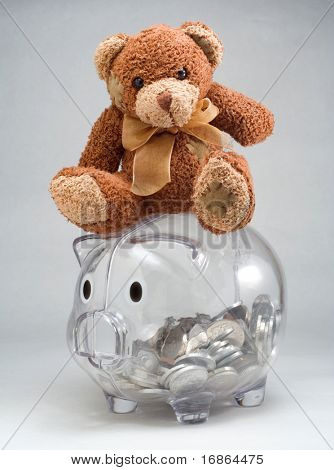 Penny pincher - Teddy bear is unauthorized homework
