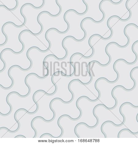 Modern background. Wavy geometric lines meshed pattern.