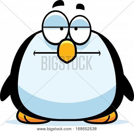 Bored Little Penguin