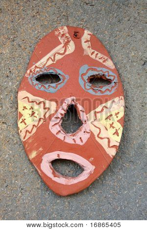 African mask - unauthorized work