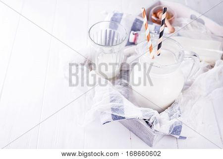 Milk In The Glass W