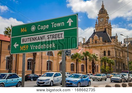 City Hall in Cape Town South Africa
