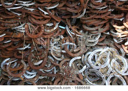 Horseshoes Backgound