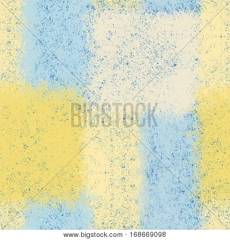 Seamless pattern with weave rectangular elements in blue,yellow,white pastel colors for plaid,carpet,upholstery