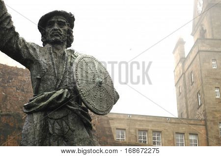 Statue of Legendary Rob Roy MacGregor, Stirling