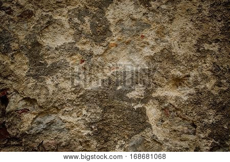 Vintage grunge texture of old weathered dirty wall