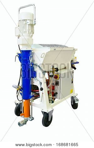 Stucco industrial station grouting pump mortar pump stucco pump