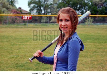 Softball/Baseball Girl
