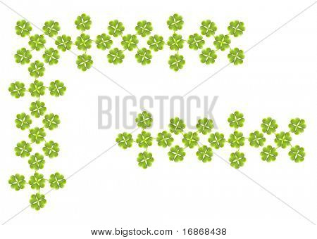 Quarter-foil ornamental border