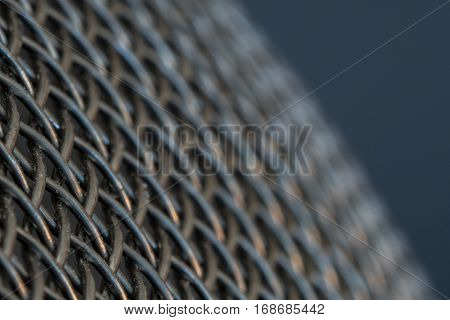 Fading Chain Link on close up of kitchen sifter