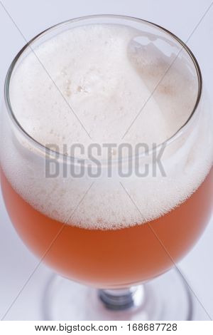 Beer Glass Close Up