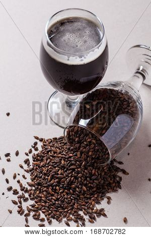 Stout And Dark Malt
