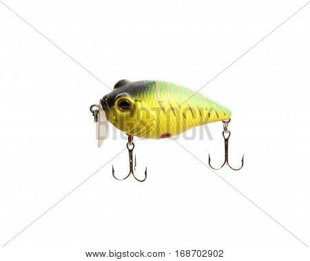 Fishing Lure Isolated On White Background