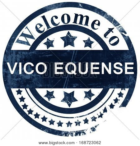 Vivo equense stamp on white background