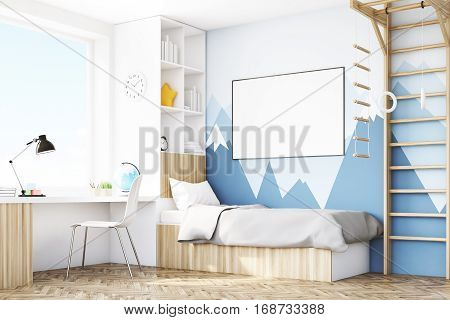 Corner Of Kid's Room With Table