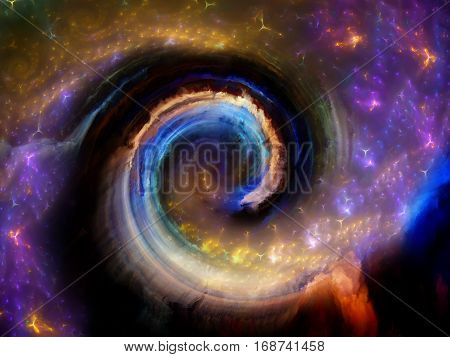 Evolving Spiral Pattern