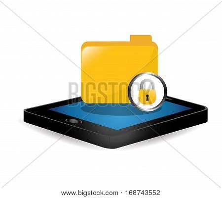 smartphone optimization and tuning data center, vector illustration icon