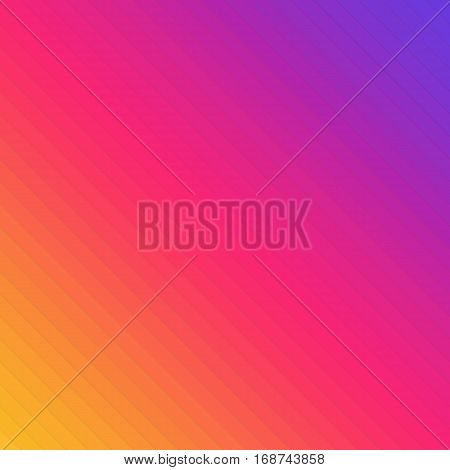 Colorful line background. Simulated gradient using colored lines. Modern colors backdrop template. Vector illustration EPS 10.