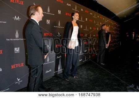Bob Odenkirk and other celebrityies arrive at the Weinstein Company and Netflix 2017 Golden Globes After Party on Sunday, January 8, 2017 at the Beverly Hilton Hotel in Beverly Hills, CA.