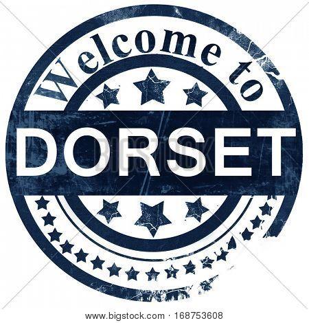 Dorset stamp on white background