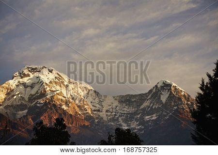 Travel, Adventure, Trekking, Hiking And Extreme Sport Concept. Amazing Scenic Landscape Of Splendid