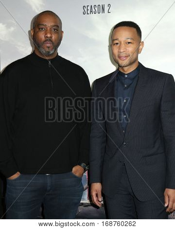 LOS ANGELES - DEC 13:  Guest, John Legend at the WGN America's