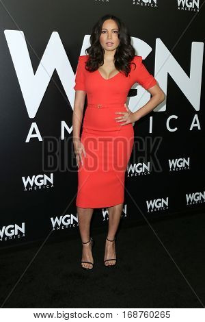 LOS ANGELES - DEC 13:  Jurnee Smollett-Bell at the WGN America's