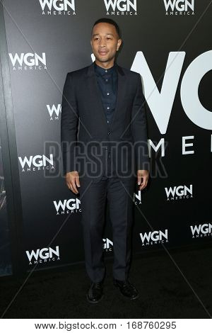 LOS ANGELES - DEC 13:  John Legend at the WGN America's